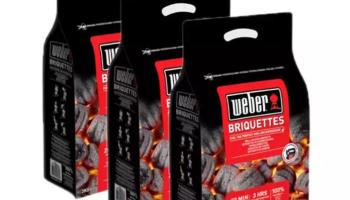 Günstige Briketts (inkl. Lieferung!) – 8kg Weber Briquettes bei nettoshop