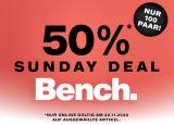 Bis zu 50% auf Bench-Artikel bei Dosenbach (nur heute)
