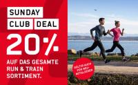 Ochnser Sport: 20% Rabatt auf das ganze Run & Train Sortiment für Club Mitglieder, nur heute