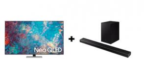 Samusung 65″ NeoQLED + Atmos Soundbar