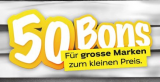 50 Bons Aktion bei Coop bis am 7. September