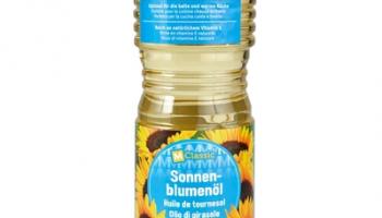 50% auf Sonnenblumenöl bei Migros