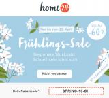 10% zusätzlich auf alles im Frühlings-SALE bei home24 (MBW: 150 Franken)