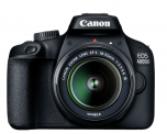 Canon EOS 4000D + EF-S18-55mm III DC Value Up inkl. SB-130 Bag Black + SD 16GB bei melectronics