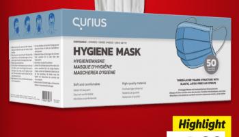 LIDL: Einweg-Schutzmasken 50 Stk. für 19.90