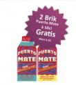 2x Brik Puerto Mate à 50cl gratis für NL-Abonnenten beim Rio Getränkemarkt