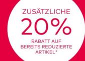 Christ Uhren & Schmuck: 20% zusätzlich auf reduzierte Artikel (-70% reduziert)