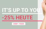 25% auf das gesamte Sortiment ab CHF 89.90 bei Ochsner Shoes (nur heute!)