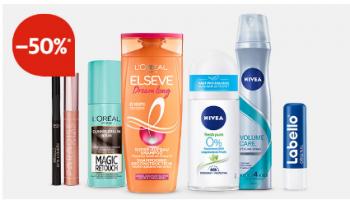 Manor Super Angebote Promo – z.B. 50% beim Kauf von 2 Produkten von L'Oréal Paris, Nivea oder Labello