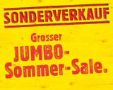 Lagerräumung / Sommer SALE bei Jumbo
