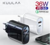 KUULAA 36W USB Ladegerät mit Quick Charge bei Aliexpress