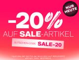 20% Rabatt auf reduzierte Artikel bei Dosenbach