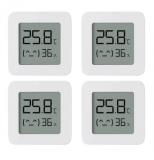 4er Pack Xiaomi Mija Temperatur- und Luftfeuchtigkeitssensoren bei AliExpress
