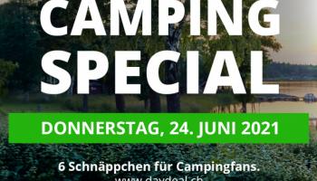 [Vorankündigung] Camping-Special bei DayDeal am 24.06.