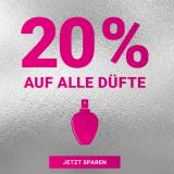 Import Parfumerie: 20% Rabatt auf alle Düfte