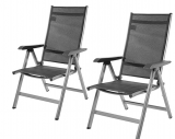 AmazonBasics – Terassenstuhl, 5-Stufen verstellbar, Doppelpack für 64 Franken (32 pro Stuhl)
