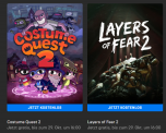Costume Quest 2 & Layers of Fear 2 im Epic Games Store