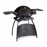 Weber Q 2200 Black Stand Grill Inkl. Hitzeschild bei nettoshop