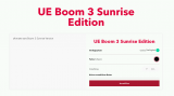 UE Boom 3 limited Sunrise edition für 69.- CHF