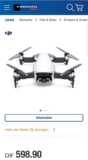 Neuer Best Price – DJI Mavic Air bei melectronics