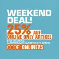 Snipes: 25% Rabatt auf fast alles mit Gutschein (nur dieses Wochenende!)