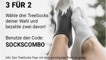 NIKIN: 3 für 2 für TreeSocks