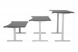 Diverse elektrisch höhenverstellbare Bürotische bei Gonser (120 – 200cm Länge)