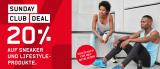 Ochsner Sport: 20% auf Sneaker und Lifestyle-Produkte (ohne reduzierte Artikel, ohne die Marke On)