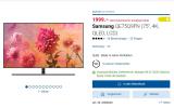 75 Zoll Samsung QLED 4K TV Q9FN bei digitec