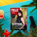 TELE bringt Licht in den TV-Dschungel – jetzt mit über 45% Rabatt auf den regulären Abopreis!