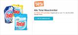 Total Waschmittel um 50% reduziert