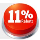 Nur heute: 11% auf alles bei Conrad, z.B. Asus C202SA Chromebook für CHF 293.66 statt CHF 329.95