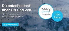 Teleboy Comfort (TV) 30% Rabatt