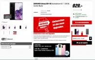 Samsung Galaxy S20+ 5G Dual-SIM, 128GB, Cosmic Black + CHF 150.- Cash Back