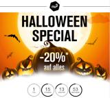 nu3 Halloween Special 20% auf ALLES