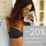 Nur heute: 20% auf Wäsche und Nachtwäsche bei Ackermann, z.B. LASCANA Hochwertiges Nachthemd im Layerdesign für CHF 51.92 statt CHF 64.90