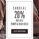 Nur heute: 20% auf alle Pumps und High Heels bei Ochsner Shoes, z.B. Varese Damen Pumps für CHF 103.90 statt CHF 129.90
