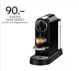 De'Longhi Nespresso™ Citiz EN167.B schwarz inkl. 90.- Kapsel Guthaben
