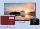 10% auf Sony TV, Audio und Foto bei Interdiscount, z.B. SONY KDL43WE755 für CHF 566.90 statt CHF 629.90