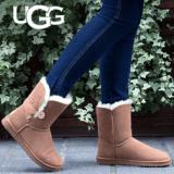 Bis zu 50% auf tbs und UGG sowie ausgewählte Sneakers und Stiefel und Stiefeletten bei Sarenza, z.B. UGG Bailey Button für 131.- statt CHF 218.50