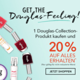 20% auf fast alles bei Douglas, z.B. Douglas Collection New Baked Marbellized Powder Highlighter für CHF 15.12 statt CHF 18.90