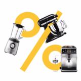20% auf Küchenmaschinen, Standmixer und Kaffeemaschinen bei Galaxus, z.B. Kitchen Aid Artisan KSM175 für CHF 575.20 statt CHF 719.-