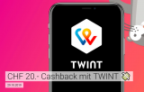 20.- Twint Cashback bei QoQa.ch (MBW: 40.-)