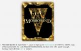 Morrowind gratis zum Jubiläum von The Elder Scrolls bis 31. März