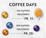 Nespresso: Verschiedene Gutscheincodes