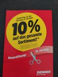 [Lokal] Denner Himmelrich-Luzern 10% Eröffnungsrabatt