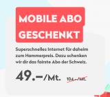 Wingo Combi mit Mobile Abo geschenkt + CHF 25.- Cashback!