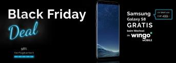 Black Friday – Wechsel auf Wingo Samsung Galaxy S8 geschenkt