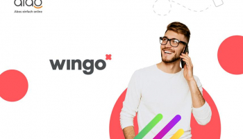 Wingo International (Alles unlimitiert in CH + EU, Swisscom-Netz) bei Alao