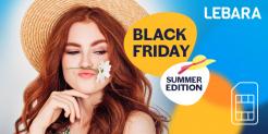 Lebara: Black Friday – Summer Edition (Lebara Swiss für 15.- // Europe Plus für 35.-)